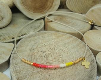 "Bracelet ""Miyuki Rainbow"" Valy"
