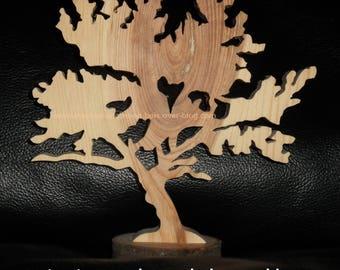 Cherry wood tree