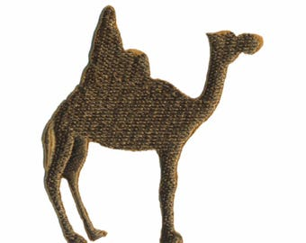Camel patch badge