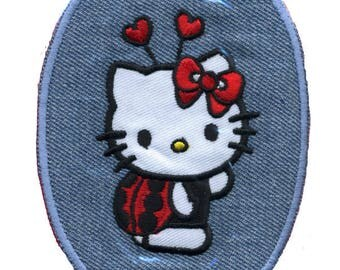 Hello Kitty Ladybug coat and hearts