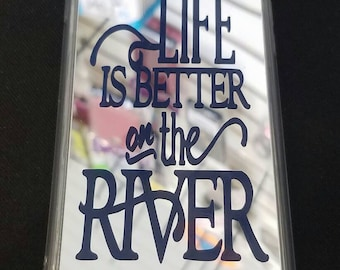 iPhone 7 Custom Case - Life Is Better On The River
