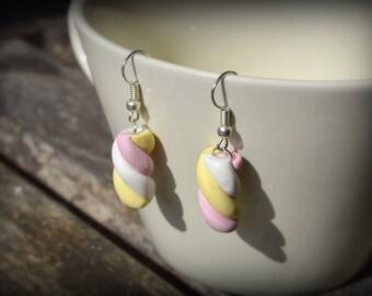 Fancy earrings • candy • Marshmallow