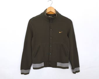 Nike Small Logo Embroidery Button Jacket