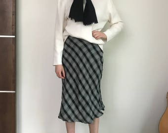 Vintage Ann Taylor Plaid Skirt
