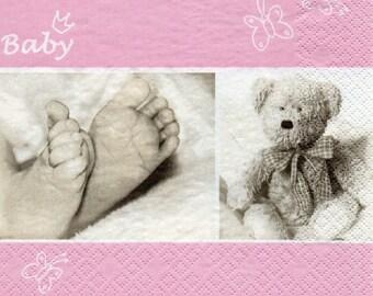 BIRTHSTONE girl towel paper 632