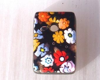 Milleflori Murano glass pendant