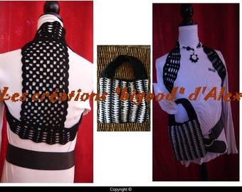 Black bolero jacket
