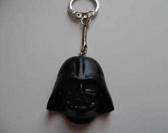 Darth Vader star wars polymer clay keychain