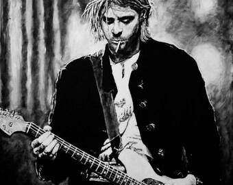 Kurt Cobain Magnet