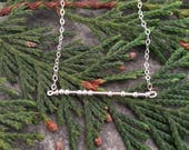 YYC PRE-ORDER Morse Code Necklace | Pick Up at the Make It Holiday Show | Calgary | Nov 2-5