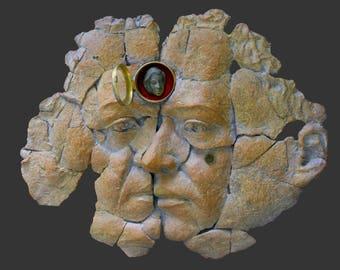 Fossil memory, Terra cotta sculpture