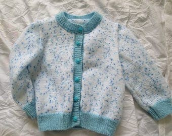 Wool baby pants and vest set