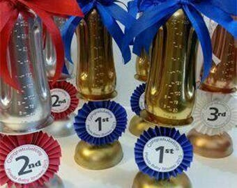 Baby bottle trophies