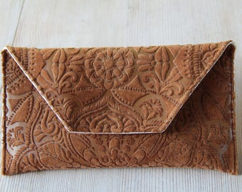 Clutch purse - handmade
