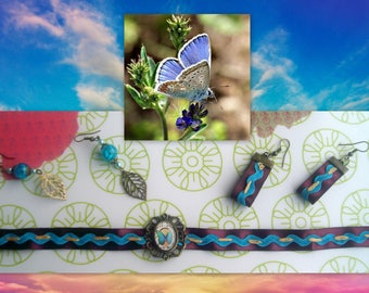 Ribbon and Butterfly - 5 PCs set