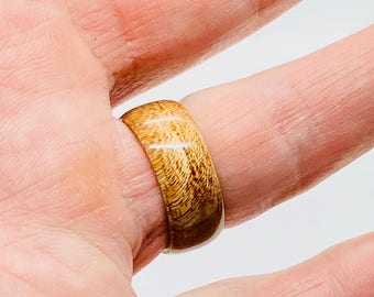Spanish Cedar Wooden Ring / Male Rings / Female Rings