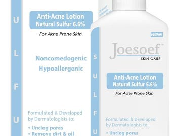 Sulfur Lotion Acne Treatment - Joesoef Skin Care Sulfur Mask 6.6%