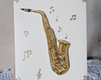 A little originality? Choose this saxophone fabric