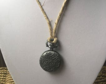 Pewter Steampunk Locket