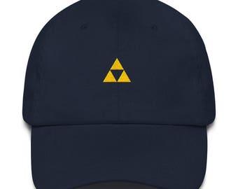Triforce Dad Hat - Triforce - Triforce Hat - Zelda Hat - Zelda - Zelda Dad Hat - Triforce Cap - Legend of Zelda - Zelda Cap - Triforce Gift
