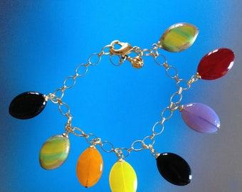 Bracelet palets de couleur