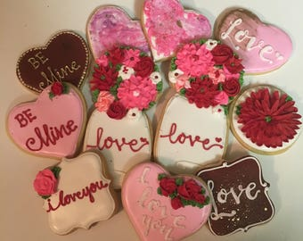 "Valentines Day ""love"" Cookies"