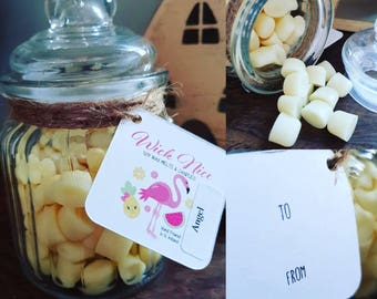 Smelly Beans - A Jar Of Highly Scented Soy Wax Melts - Wax Melts Gift - Hand Poured In Northern Ireland By Wick Nice