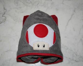 Toad Hooded Towel