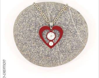 """Necklace collection """"SYL' heart"""""""