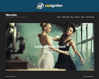 WordPress Theme For Photography