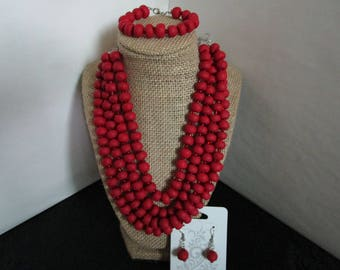 3 piece Necklace Set