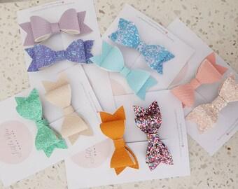 Medium Hair bow set