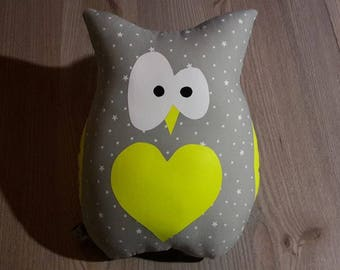louisette gray OWL plush