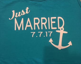 Just Married tanks