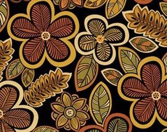 Tangier sold Black par50 fabrics * ref:119312 55cm