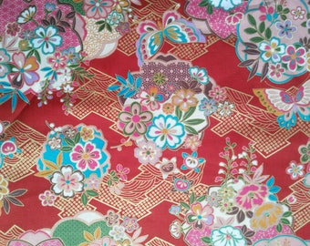 Coupon of Japanese fabrics sold by 45 * 55cm