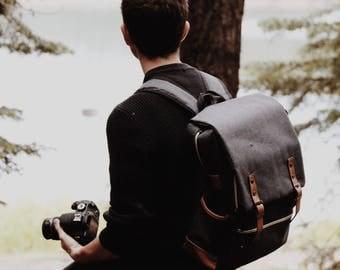 Backpack Travel Bag Vintage backpack Minimalist Bag