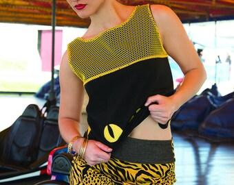 """= ^^ = #8 tag """"Neko"""": skirt Tiger leopard"""