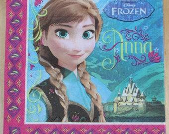 """napkin """"Queen of snows"""" 2 patterns"""