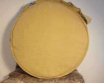 Shamanic drum made of cotton bag