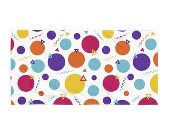 """Party Beach Pool Towel 30""""x60"""" Made of Cotton Polyester"""