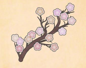 Tattoo Art: Cherry Blossom