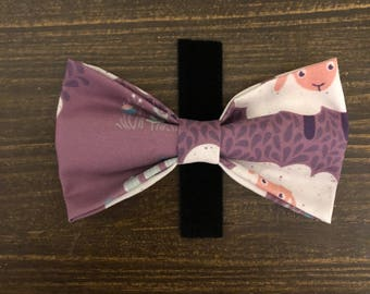 SALE** Counting Sheep pet bow tie