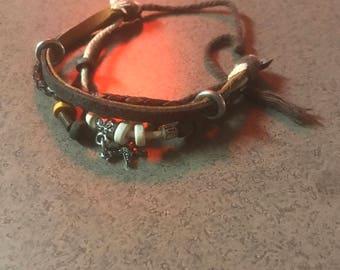 Bracelet and necklaces