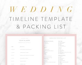 wedding timeline etsy. Black Bedroom Furniture Sets. Home Design Ideas