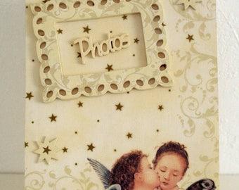 """Angels"" photo keepsake box"