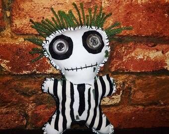 Beetlejuice Inspired Voodoo Doll