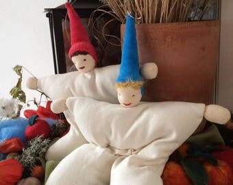 Trösterle, comforting imp, imp doll, cuddly doll