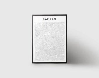 Camden Map Print