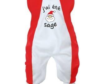 Christmas Baby onesie: I've been good